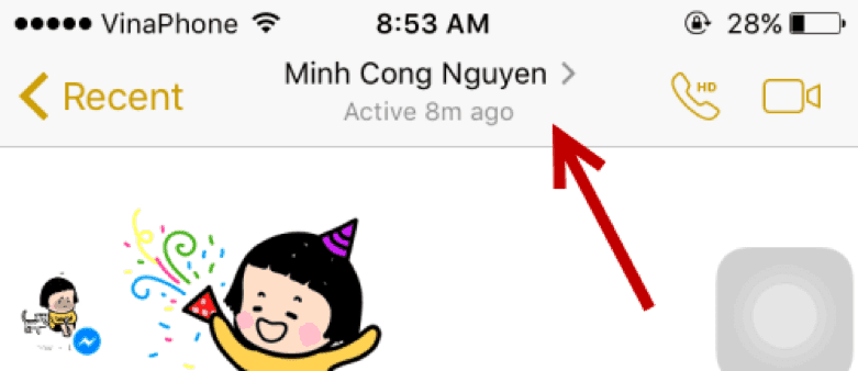 change your conversation every second on facebook messenger