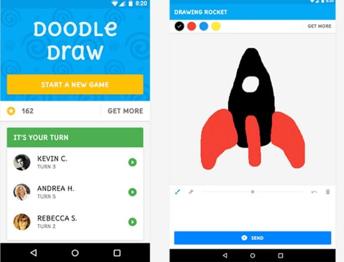 doodle your picture on messenger