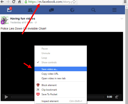 download fb videos without any tools