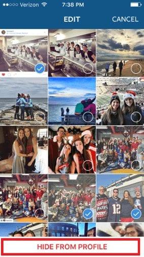 edit tags on instagram