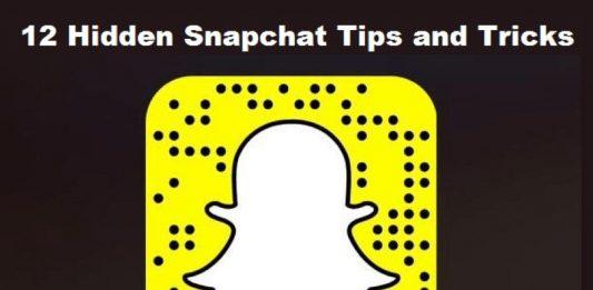 snapchat hidden tips tricks