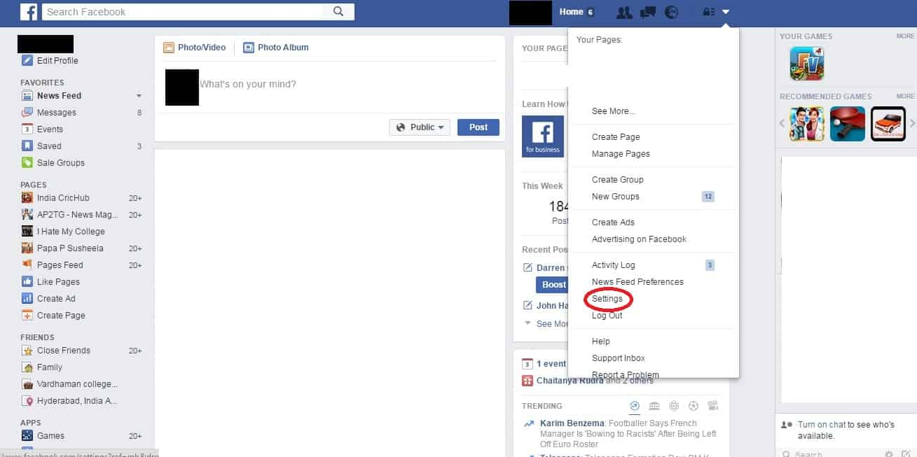 Do you know you can recover all your deleted facebook posts using click on download a copy of your facebook data ccuart Choice Image