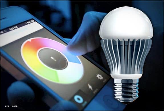 Control an LED light bulb from your phone - Cool Things You Didn't Know Your Android Could Do