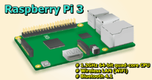 The Raspberry Pi 3 Adds Built-In Wi-Fi and Bluetooth, Gets a 50% Speed Boost