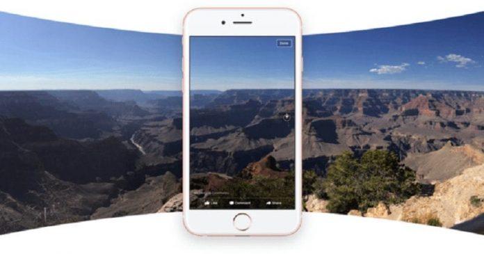facbook 360degree photo