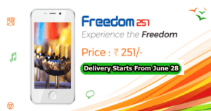 """We Will Start Shipment of Freedom 251 From June 28"", Says Ringing Bells"