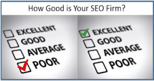 How To Tell If Your SEO Firm Is Doing The Job Right Or Is It The Time To Change