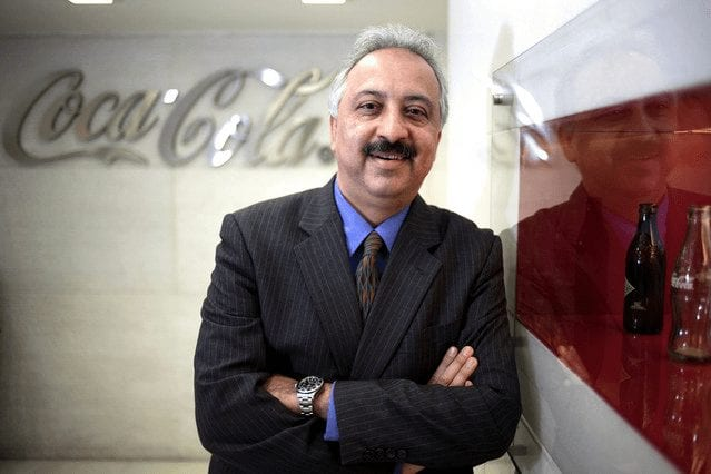 Atul Singh – Group President of Asia of Coca Cola