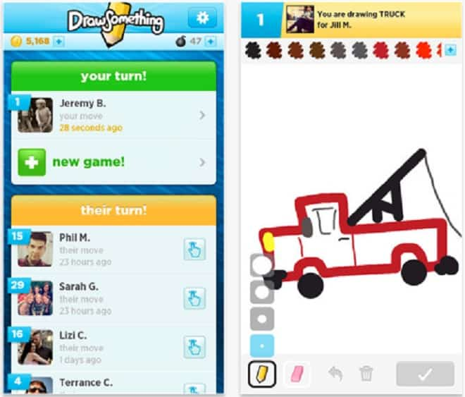 Draw Something - iOS Apps You Must Uninstall From Your iPhone Right Now