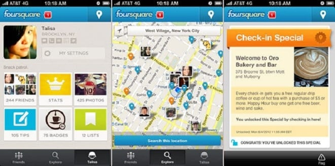 Four Square - iOS Apps You Must Uninstall From Your iPhone Right Now