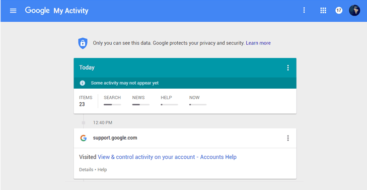 Google's new 'My Activity' Dashboard Consolidates Everything It Knows About You (1)