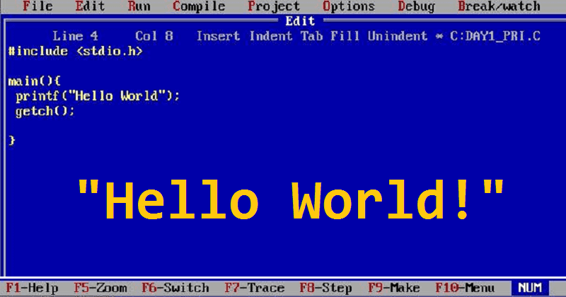 Here's How You Can Say 'Hello World' in 26 Different Programming Languages (1)