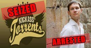 KickassTorrents — Domain Names Seized! Owner Arrested! Website Goes Down!