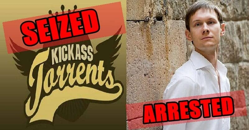Kickass-Torrents arrested