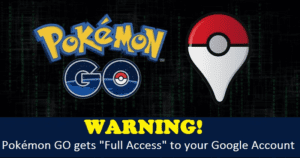 Pokémon GO Is A Huge Security Risk: Grants Itself 'Full Access' To Your Google Account