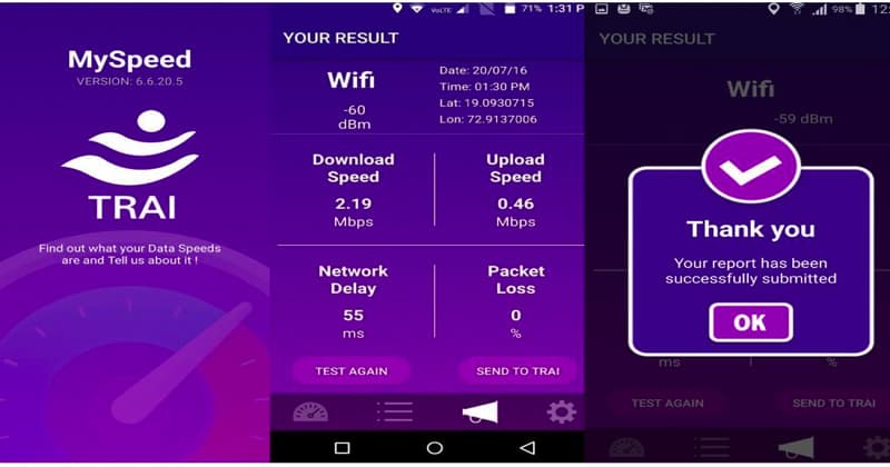 TRAI-My-speed-app