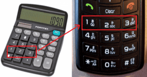 Have You Ever Wondered Why Numbers On Calculators And Phones Are Reversed? Here's The Answer!