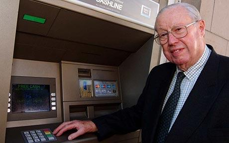 atm machine inventor