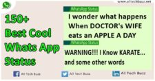 best cool whats app status all tech buzz