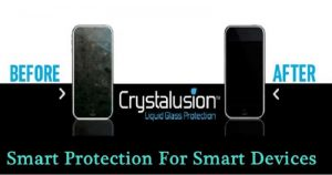 Crystalusion: Liquid Glass Protection For Gadgets-Smart Protection