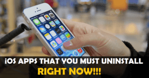iOS Apps You Must Uninstall From Your iPhone Right Now.