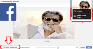 Do You Know You Can Add A Temporary Profile Picture In Facebook? Here's How