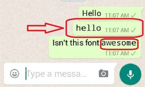 whats app new font 1