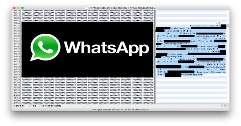 whatsapp ios messages can be restored even after deleting or clear all chats