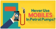 dont use mobiles at petrol pumps