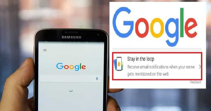 google stay in loop feature