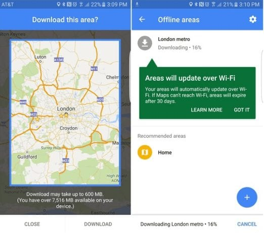 offline maps - Google Maps Tips And Tricks For Android You Need To Know