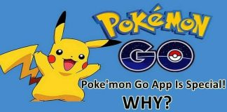 why pokemon go special