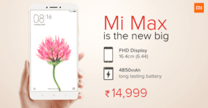 Buy Xiaomi Mi Max, Prime – Specifications, Features and More