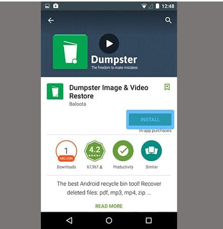 download-and-install-dumpster