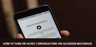 """How to Turn On """"Secret Conversations"""" On Facebook Messenger"""