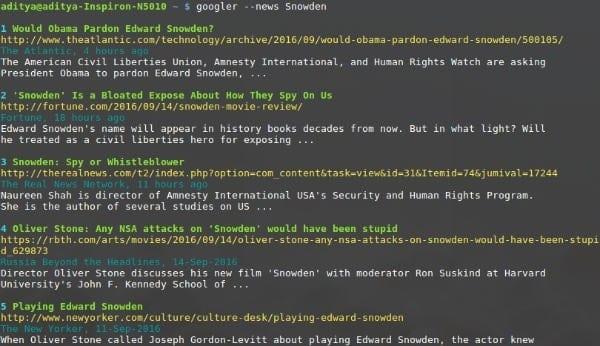 linux-googler