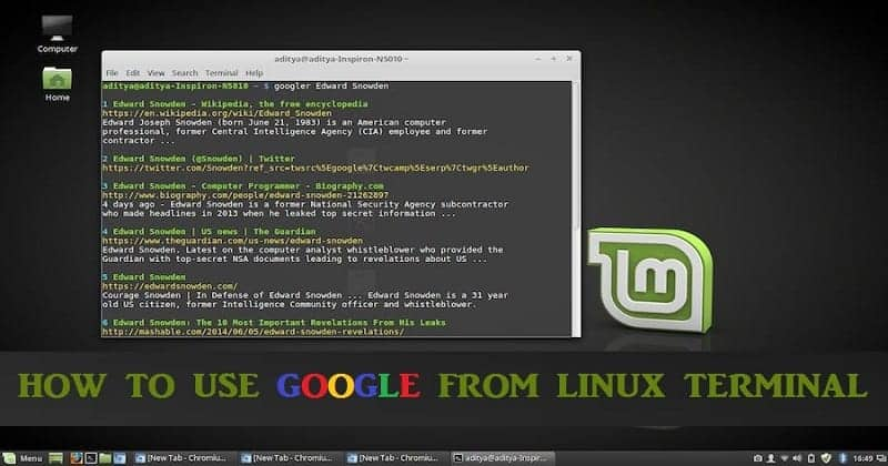 Google Can Be Used From Linux Terminal Here's How