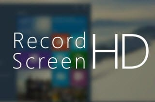 Record your Windows 10 Screen