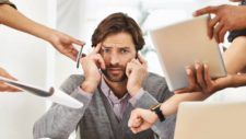 how to avoid work stress