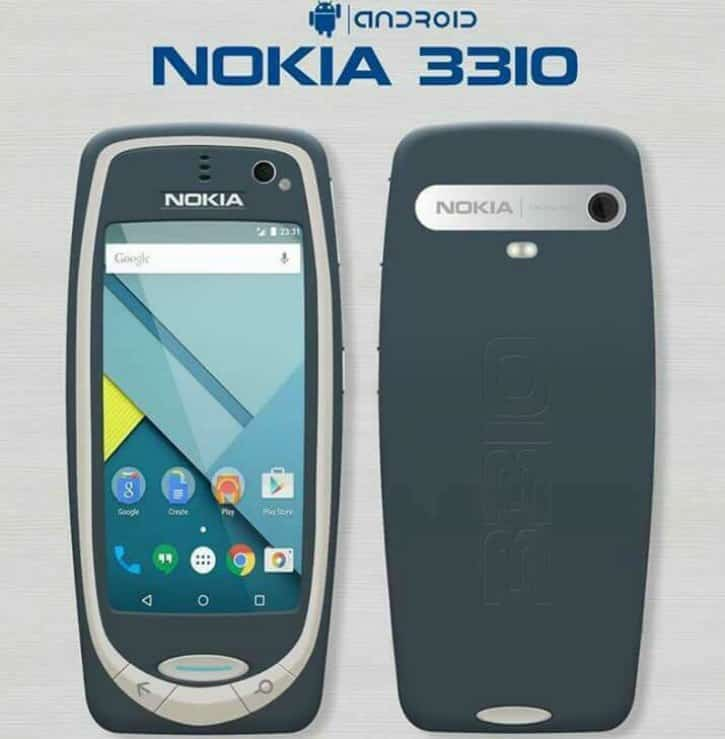 Nokia 3310 rumored pictures