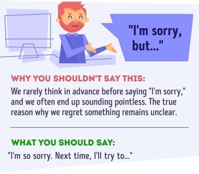 Things you should never say at work 7