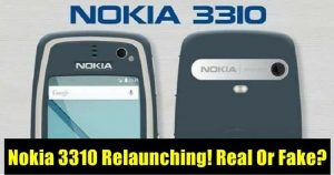 Don't Be Fooled, Here's The Truth Behind Nokia 3310 Relaunching