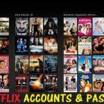 free netflix accounts & passwords