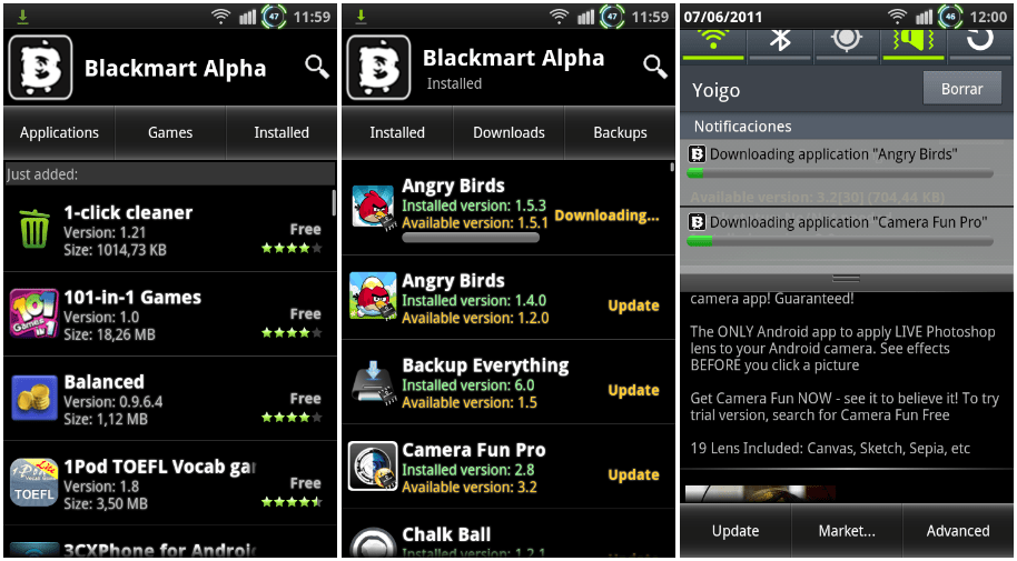 Blackmart app