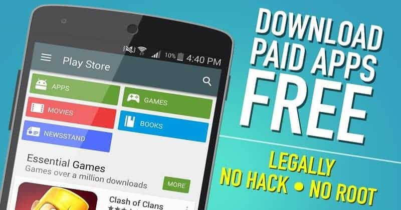 Get Paid Apps For Free In Android