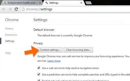 منع تلقي إشعارات المواقع على سطح المكتب وعلى الفيس بوك عبر متصفح جوجل كروم