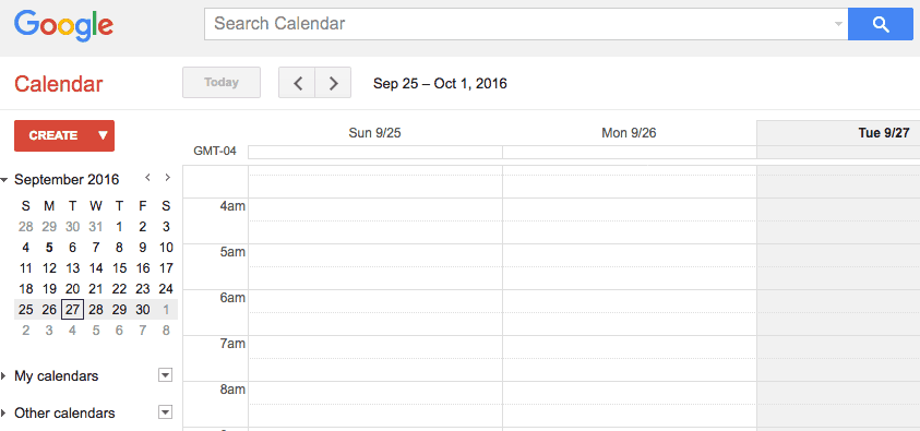 Google calendar-Google sheets-12 Awesome Free Google Tools All Content Marketers Should Use