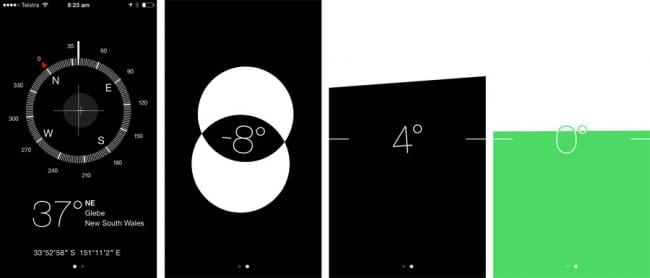 Use the Compass app as a Spirit level-23 Awesome, Little-Known iPhone Features That Apple Doesn't Talk About (1)-23 Awesome, Little-Known iPhone Features That Apple Doesn't Talk About (12)