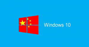 Microsoft Just Built A Special Version of Windows For Chinese Government