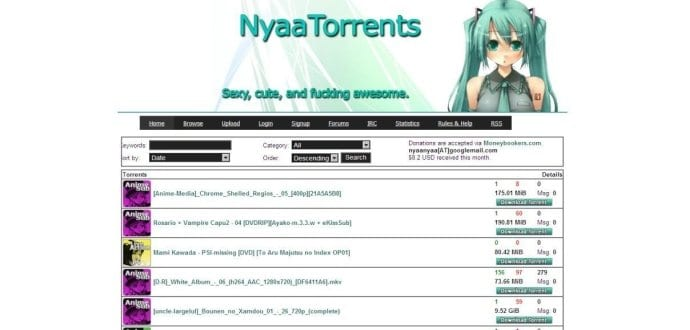Popular Anime Torrent WebSite NYAA Goes Down Here Are Top 3 Anime Download Alternatives (6)